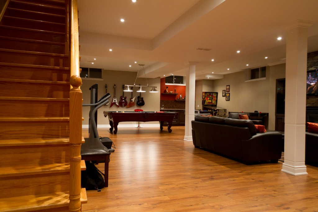 Finished basement remodeling ideas basement remodeling Basement room decorating ideas