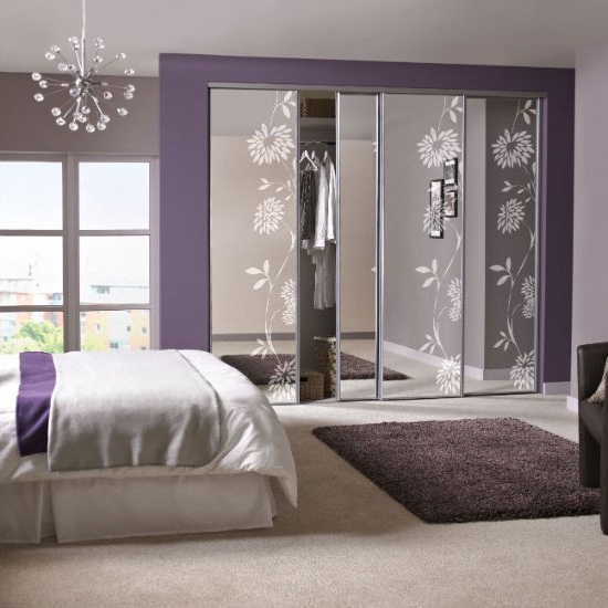 bedroom wardrobe designs for small rooms with mirror photo 12
