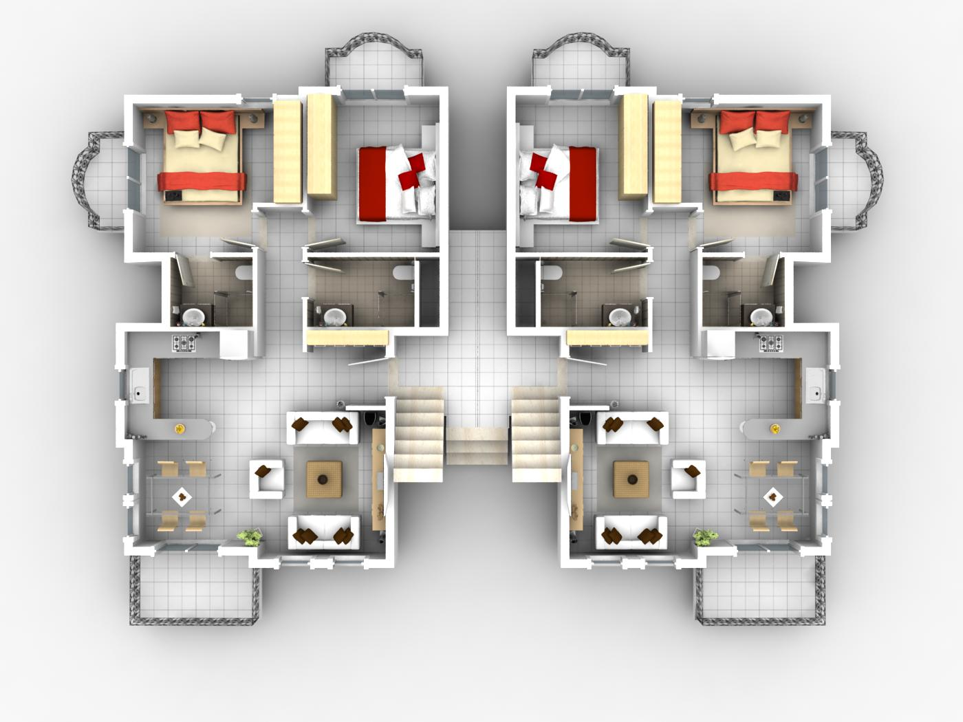 Best apartment floor plans 2 bedroom pictures 01 small for Best apartment floor plans