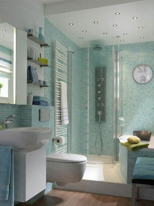 Small Bathroom With Separate Tub And Shower : Remodel small bathroom with separate shower and bathtub