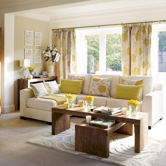 best window treatments for a small living room pictures 04