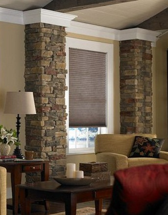 best window treatments for living room with-blinds photos 10