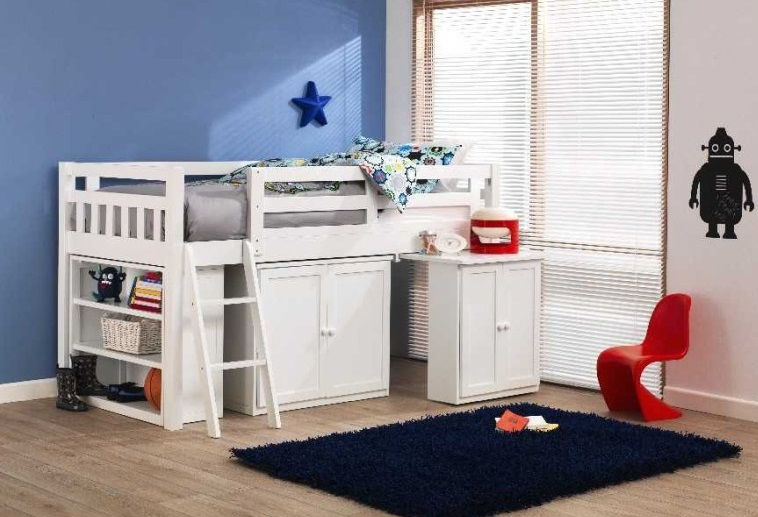 Childrens Cabin Beds For Small Bedrooms Image 07 Small