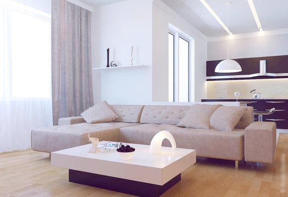 contemporary apartment living room furniture contemporary