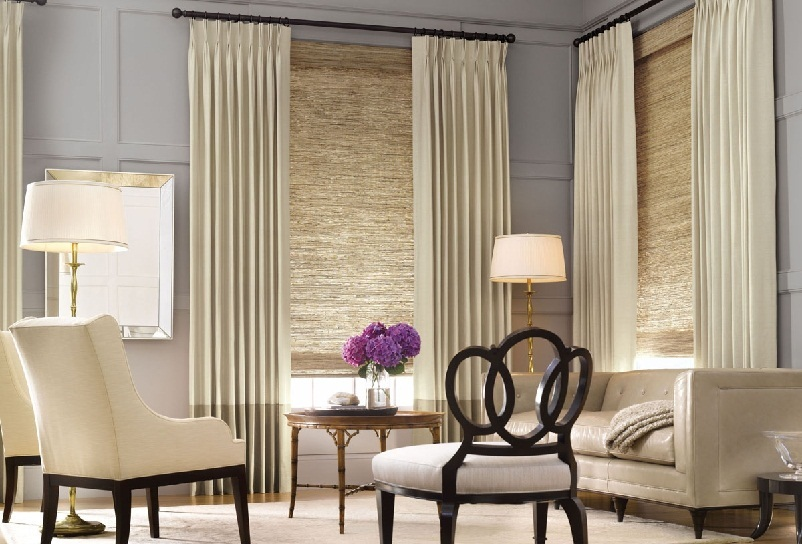 Living room window treatments ideas small room for Living room window treatments