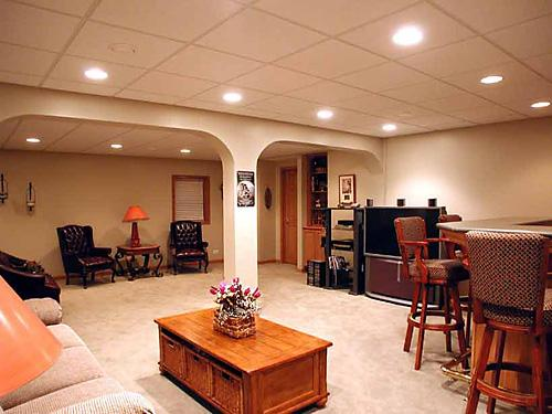 cool ideas for basement remodeling images 07