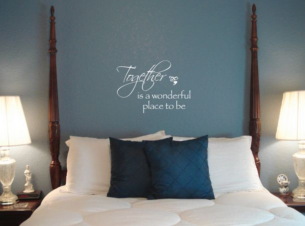 custom vinyl wall quotes wall stiker bedroom images 06