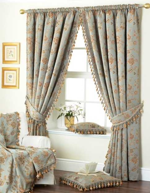 cute bedroom window curtains images 05