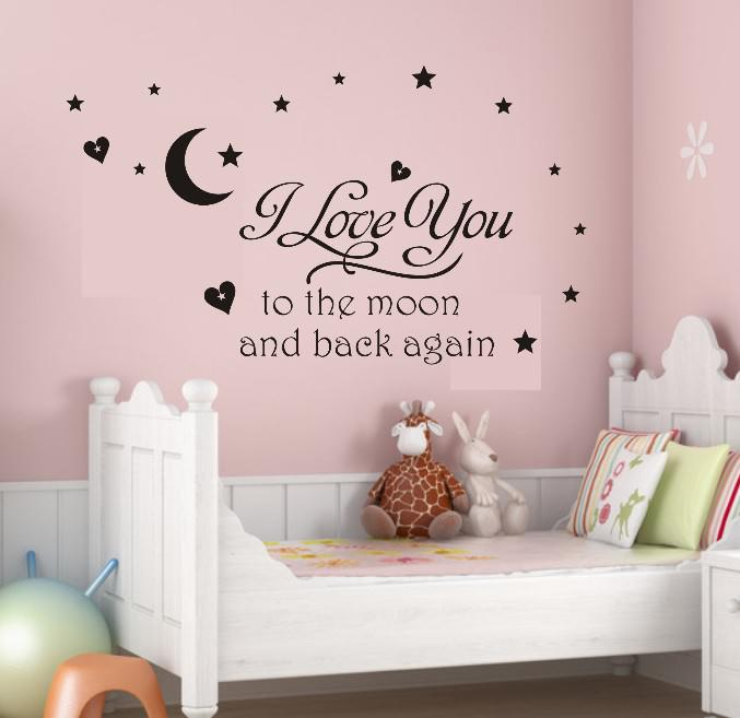 Best wall sticker quotes for bedrooms cute quotes for bedroom wall stikers for nursery images - Baby slaapkamer deco ...