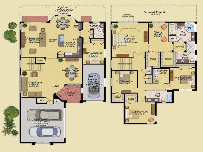 Garage apartment floor plans cost photos 010 small room Floor plans for apartments