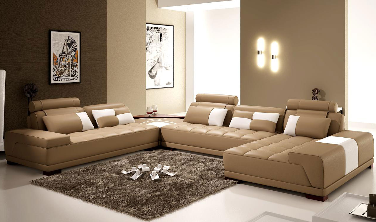 home interior painting ideas combinations leather furniture pic 15