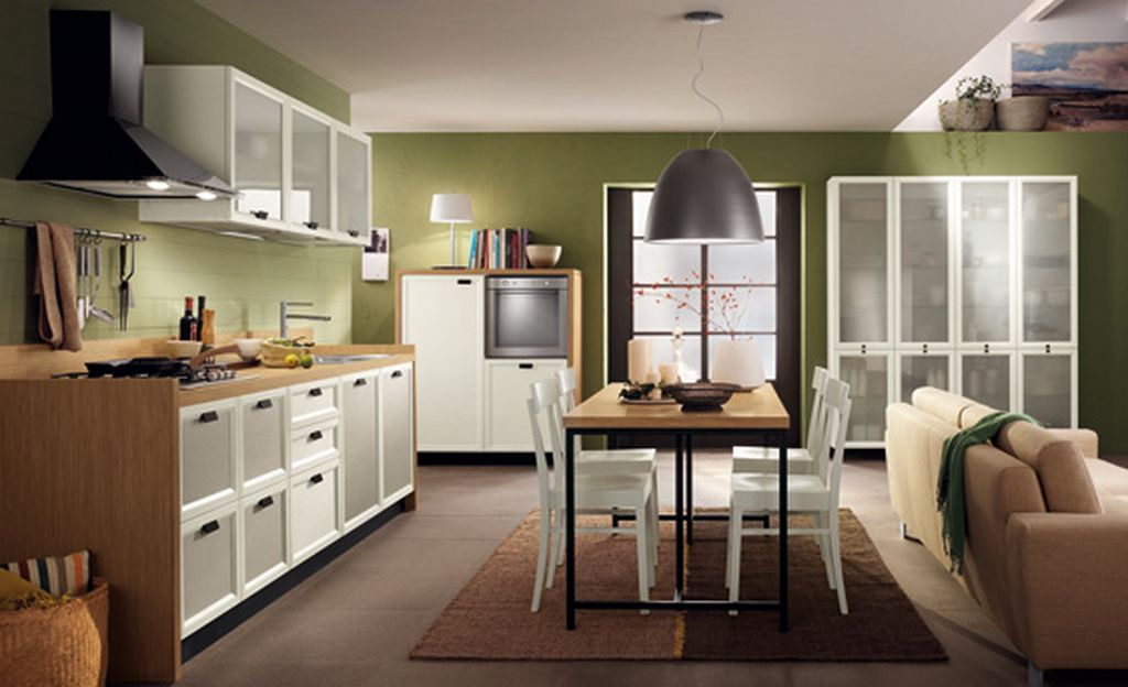 How to combine a small living room and dining room photos for Small living and dining room design