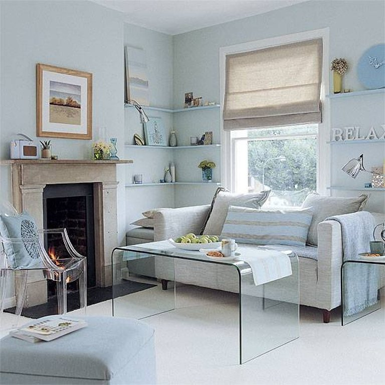 How to design small space living room photos 10 for Small apartment living room design