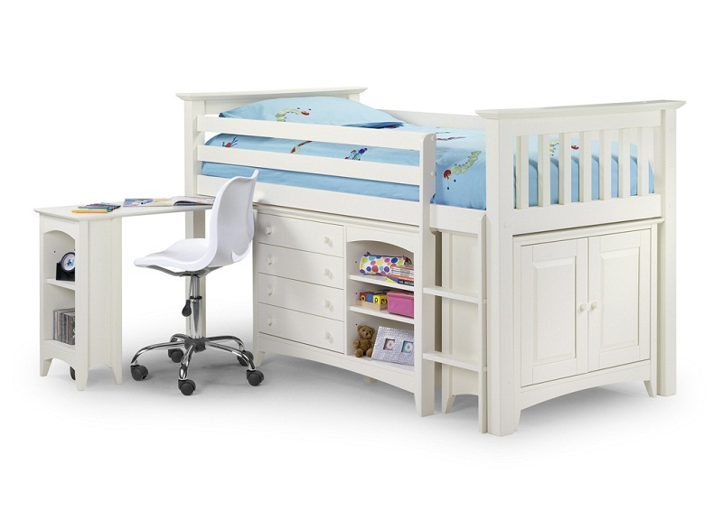 Kids cabin bed white color pictures 14 for Cabin beds for small rooms