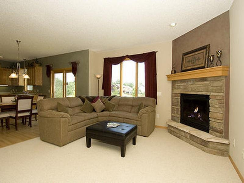 living room furniture arrangement with corner fireplace images 07