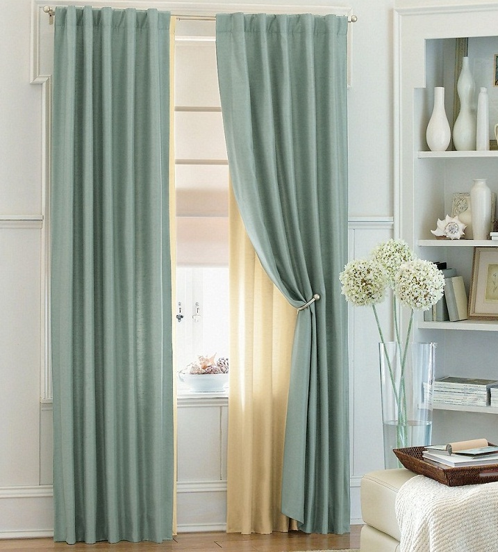modern bedroom window curtains simple color images 07