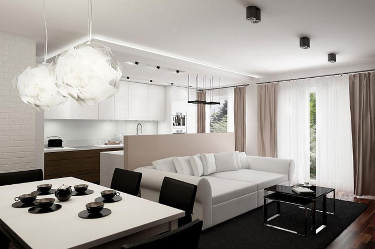 modern living room furniture for an apartment 01