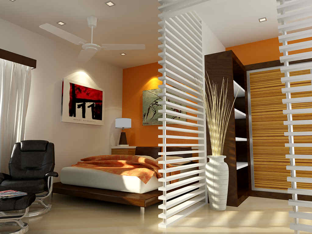 Modern small apartment interior design bedroom pictures 12 for Modern interior designs for small apartments