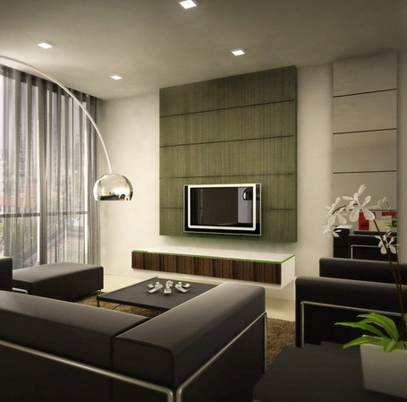 Contemporary Apartment Living Room Furniture Modern Small