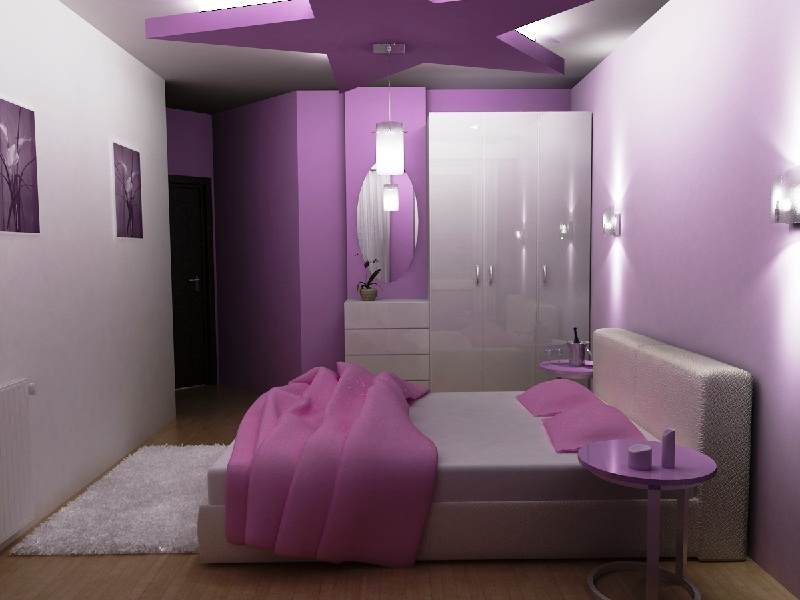 paint ideas for bedroom accent wall pictures 02
