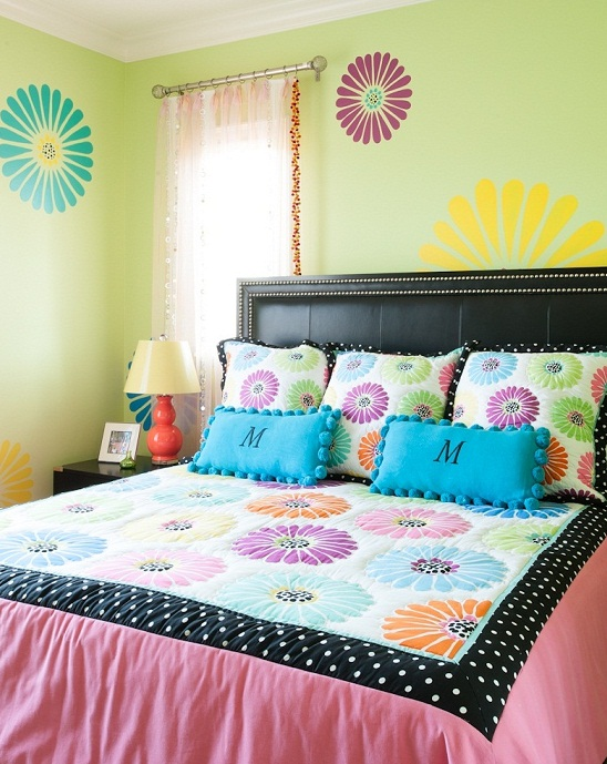 popular paint colors for bedroom walls for girls photos 09