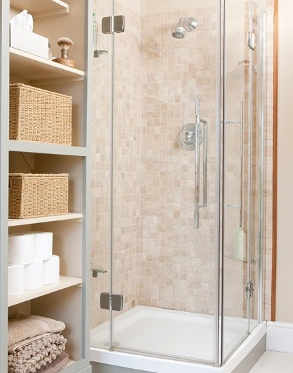 Very small bathroom designs with shower enclosure photos for Very small corner bath