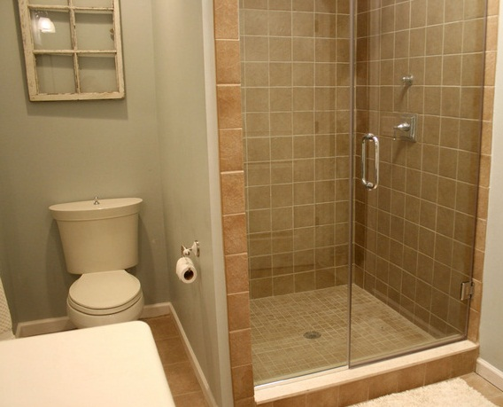 Remodeling small bathroom with shower tile images 01 for Very small bathroom designs with shower