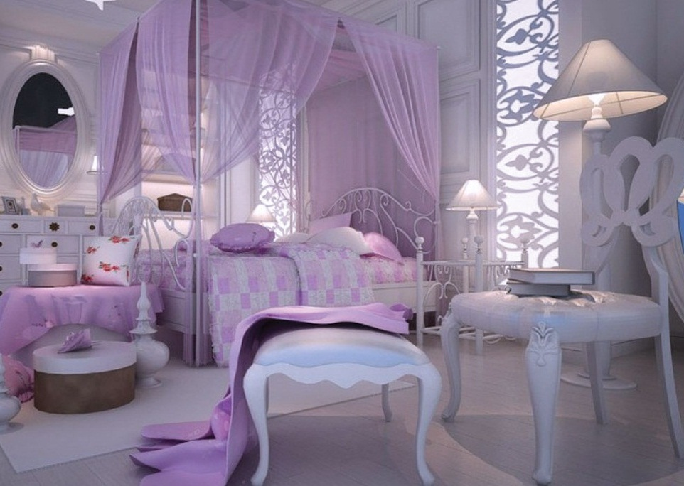 Romantic master bedroom decorating ideas purple photos 8 for Romantic master bedroom designs