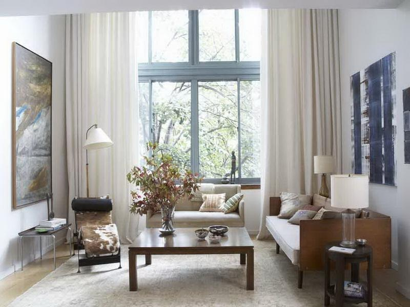 window treatments for a bay window in living room pictures