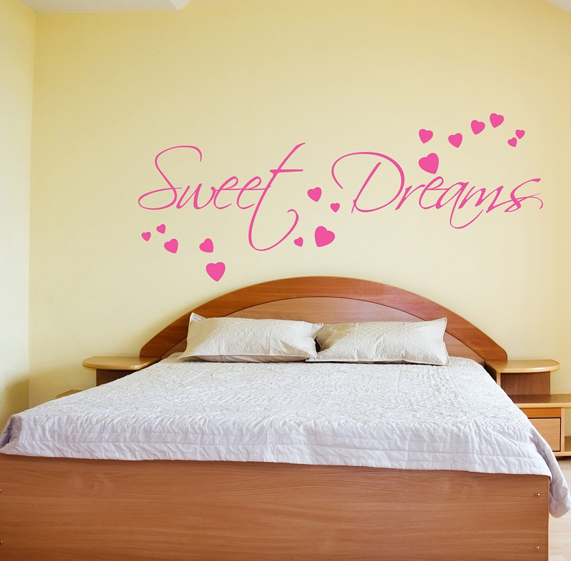 sweet dream wall stiker quotes pictures 03