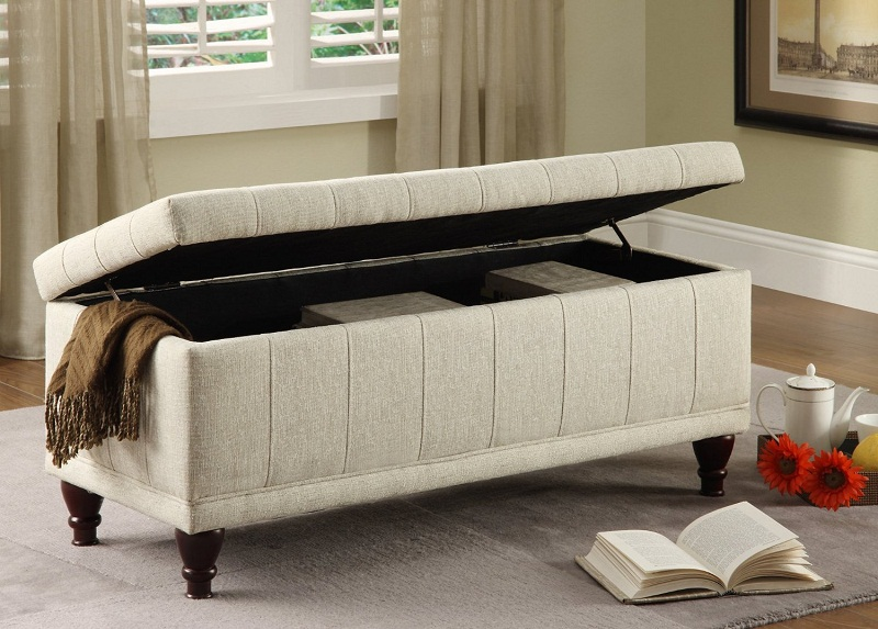 upholstered storage bench bedroom photos 09