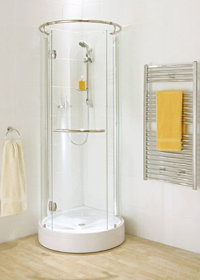 Small bathroom pictures shower folat - Shower stall designs small bathrooms ...