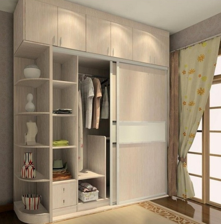 Wardrobe designs for a small bedroom pictures 03 for Wardrobe ideas for small rooms