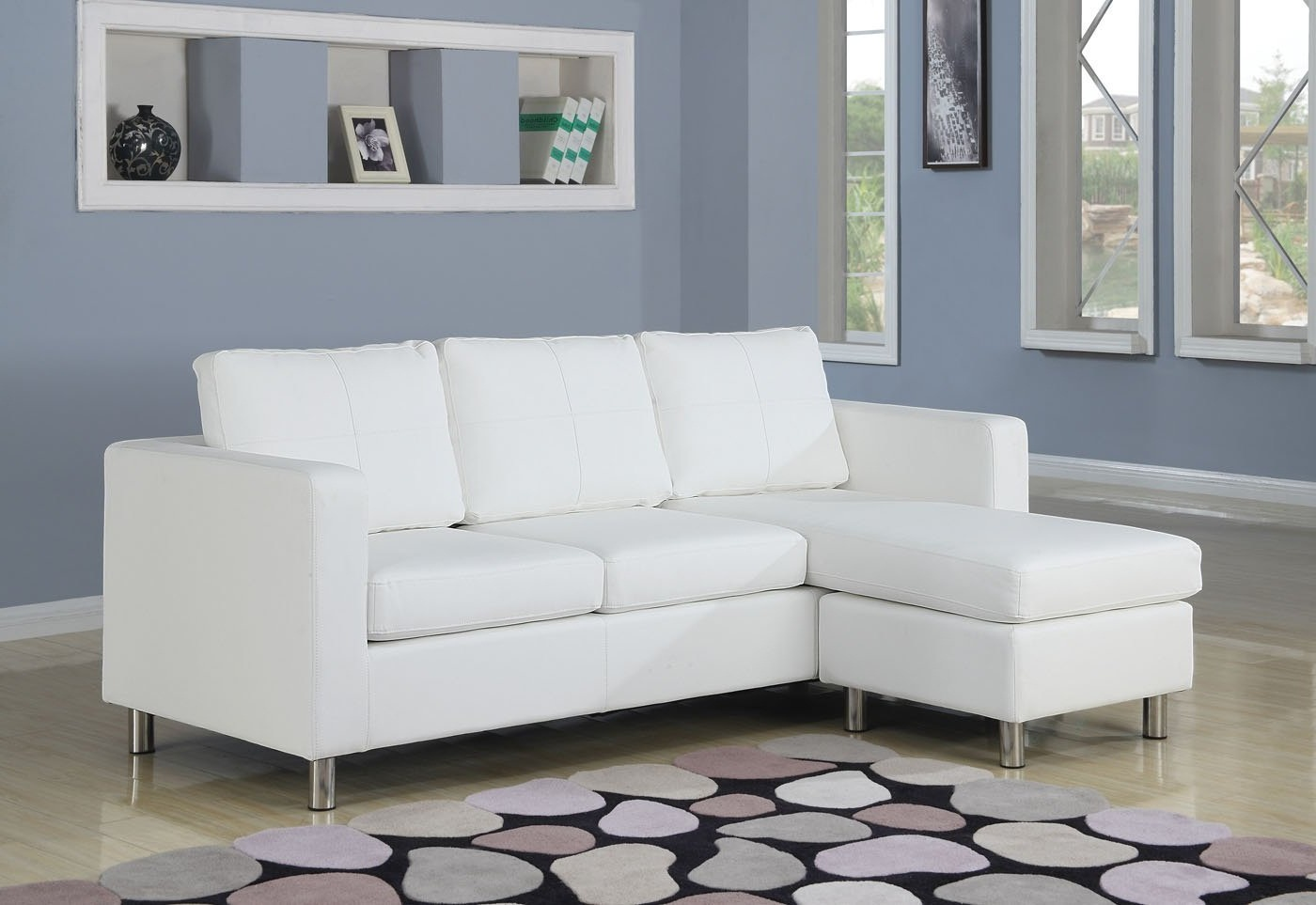 white small sectional sleeper sofa chaise images 08
