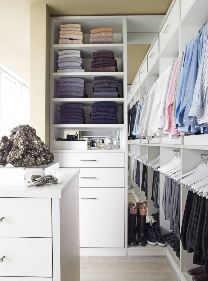 best storage for small apartment closet with full scale