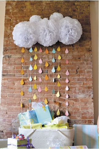 back to post simple decorations for baby shower