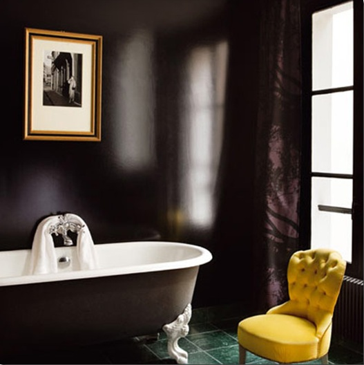 dark brown best paint colors for small bathroom images 04