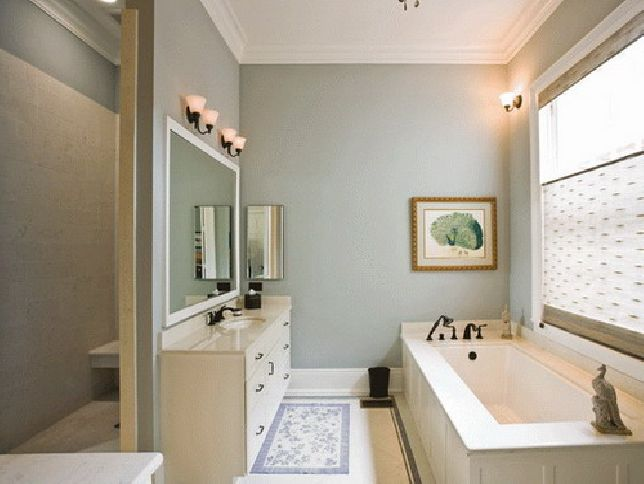 Bathroom paint color ideas top tips dark brown best for Paint for small bathrooms