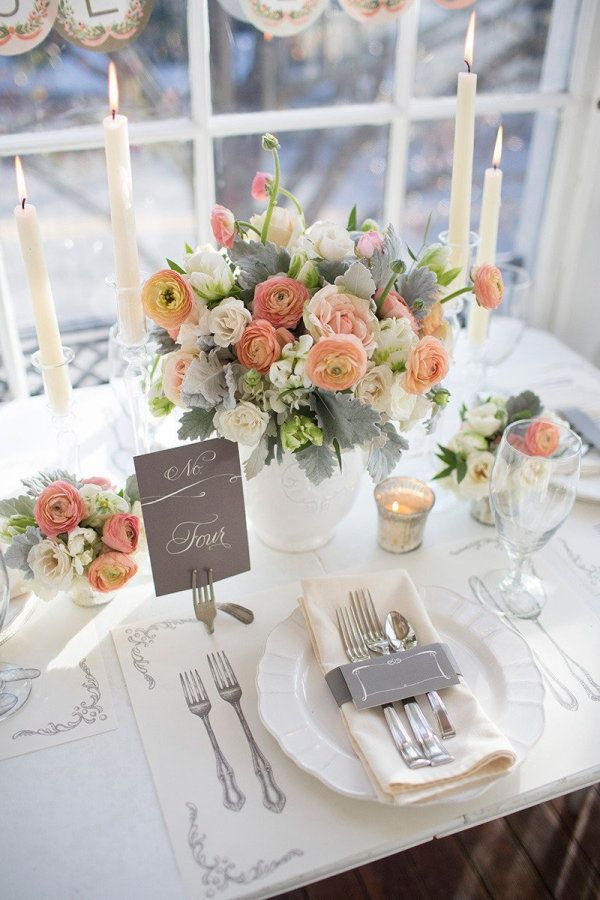 simple cheap wedding table decorations photos 011