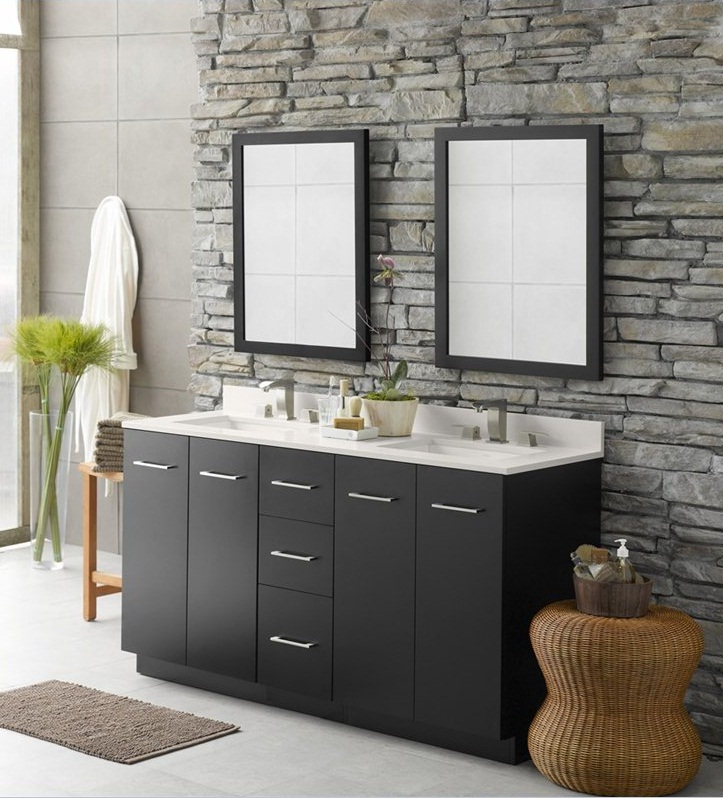 Small Bathroom Vanity Drawers : Small bathroom vanities with drawers white