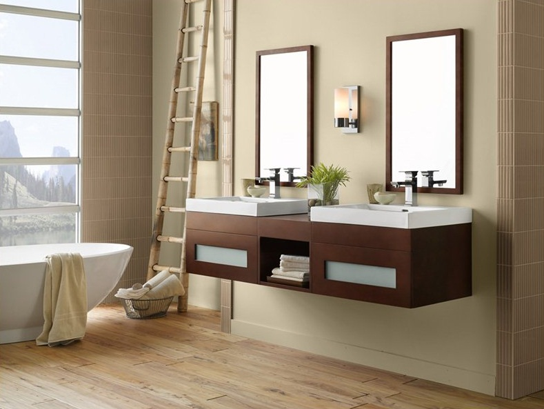 Simple Small Bathroom Vanities With Drawers  Small Room Decorating Ideas