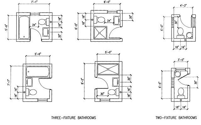 6 option dimension small bathroom floor plans layout great for effective space Bathroom floor plans for small spaces