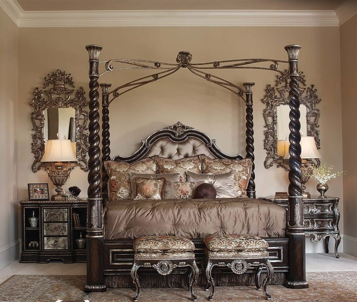 22 four poster bed bedroom design ideas antique four for Bedroom designs with four poster beds