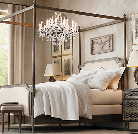 Awesome Vienne French contemporary four poster bed