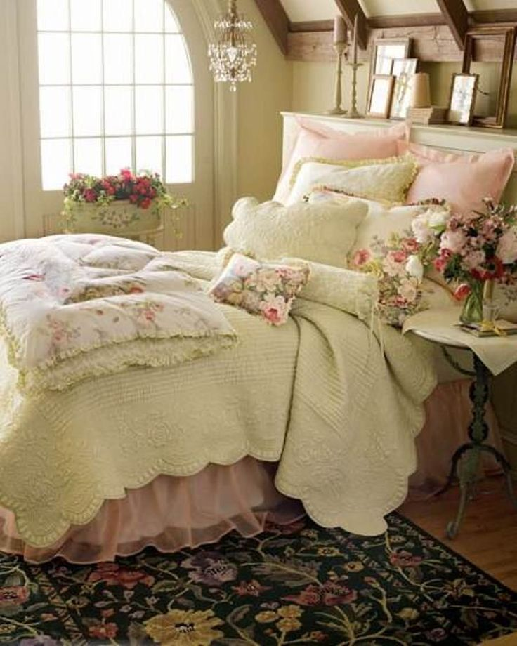 Shabby Chic Bedroom Decorating Ideas: Shabby Chic Bedroom Curtains ...