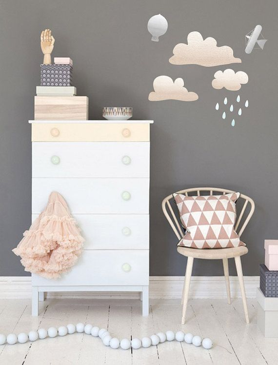 Bedroom Wall Stickers Cloud Pictures for Kids Bedroom