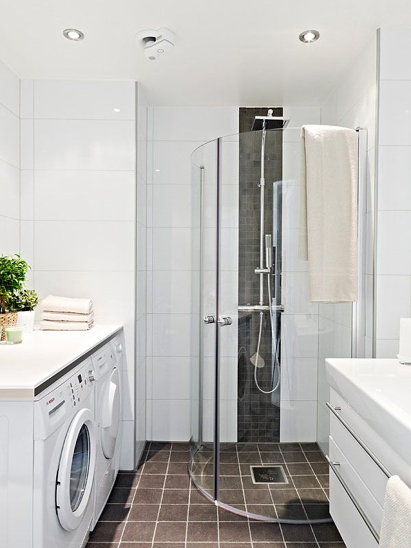 Best Small Bathroom Plans Finish Minimalist Design With Shower and Laundry