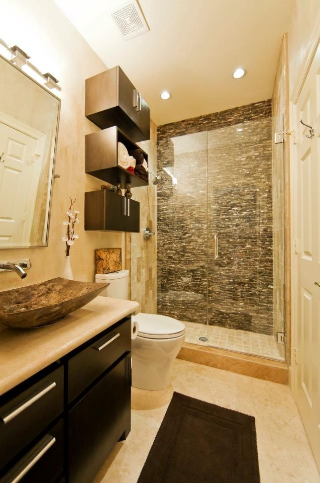Best small bathroom remodeling ideas yellow wall pictures for Best bathroom ideas for 2015