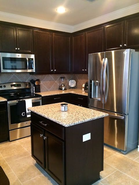 Black Kitchen Cabinets Small Kitchen Images