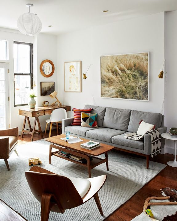 Brooklyn Mid Century Modern Furniture Apartment